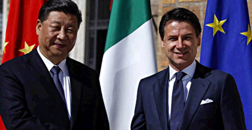 LE VIE DELLA NUOVA CINA: The Belt and Road Initiative (BRI)